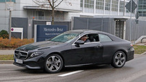 2018 Mercedes E-Class Coupe caught performing final testing