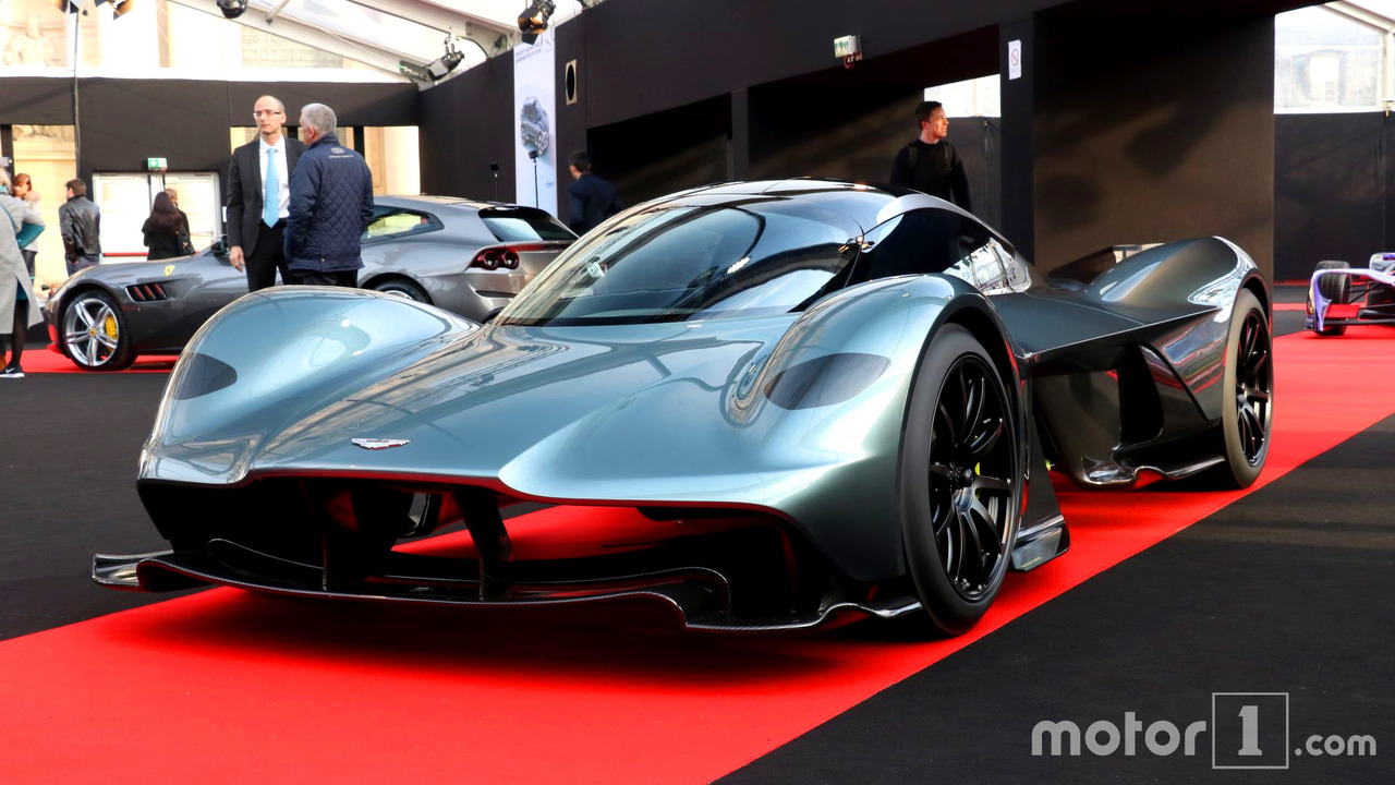 aston martin valkyrie am rb 001 hypercar is christened