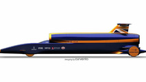 Britain's Bloodhound Project Seeks 1000 MPH World Land Speed Record in 2011 [Video]