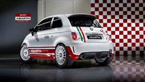 Rally Prepped Abarth 500 R3T Revealed in Sanremo