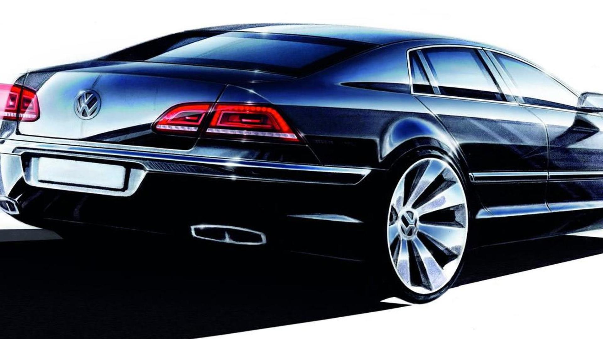 Volkswagen Phaeton replacement coming in 2015?