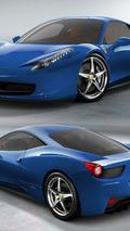 Ferrari 458 Italia - Blu 2