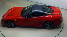 Ferrari 599 GTO Completely Uncovered in Spy Photos