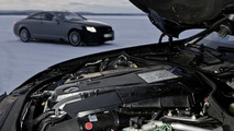 AMG 5.5-litre V8 biturbo engine: Winter testing in northern Sweden