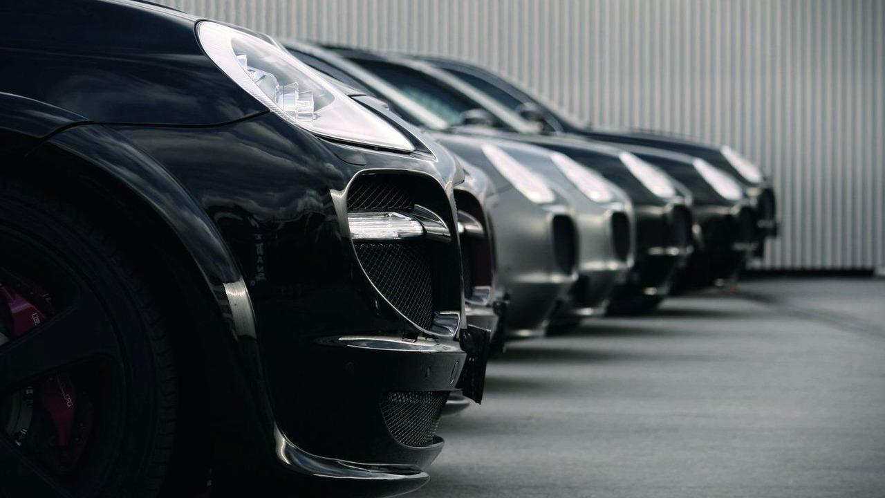 Gemballa Porsche Cayenne Aeros, company photos, 25.02.2010