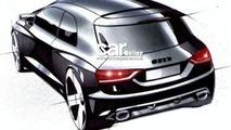 Official Design Sketch of Audi's upcoming A1. Thanks to Carmagazine.com!
