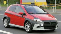 Fiat Grande Punto Abarth Spy Photos