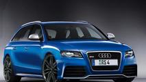 Audi RS4 Avant 2012 front