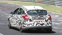 2012 Ford Focus ST spied on ring 26.05.2011