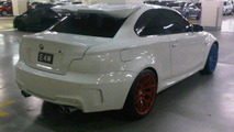 Tuned BMW 1-Series M Coupe offends eyeballs in Singapore