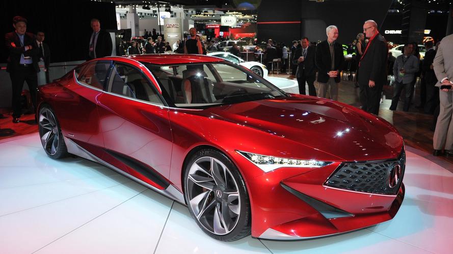 Acura Precision Concept previews new exciting design approach [videos]