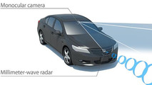 Honda introduces their Sensing driver-assistive system