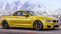 BMW M4 rendered as a 431 HP pickup