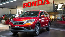 Honda CR-V with 1.6 i-DTEC diesel live in Geneva
