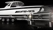 Mercedes G63 AMG & Cigarette 42' Huntress 05.2.2013