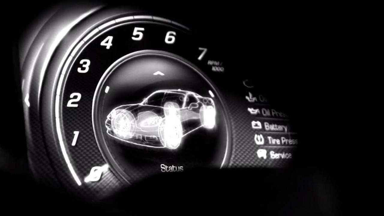 2014 Chevrolet Corvette teaser video screen shot 29.11.2012