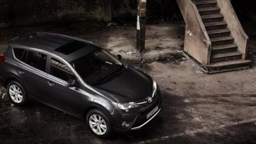 2013 Toyota RAV4 official images leaked