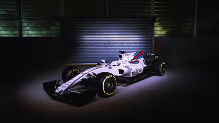 Williams shows first images of FW40 in the flesh