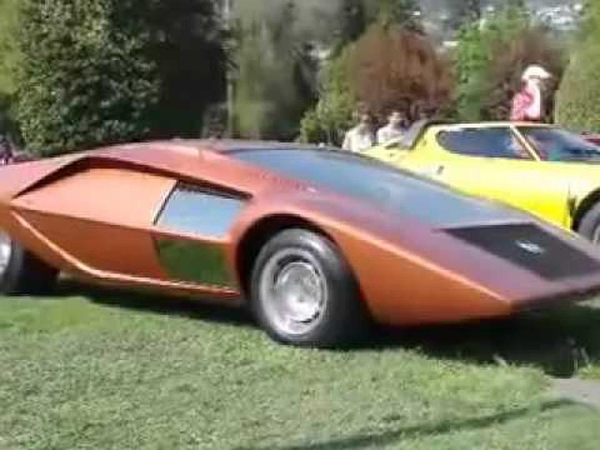 Bertone Stratos Zero 1970