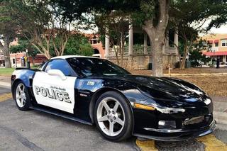 Texas Police Department Adds Corvette Z06 to Its Fleet