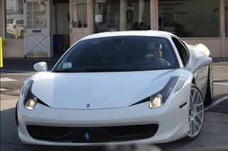 Justin Bieber's Ferrari 458 Stopped by Police, Again