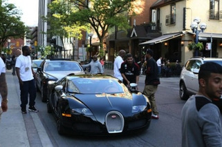 Drake Does Canada in a New Bugatti