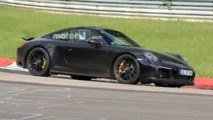 Porsche 911 GTS Spy Photos