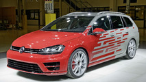 VW Golf R Variant Performance 35 concept unveiled at Wörthersee
