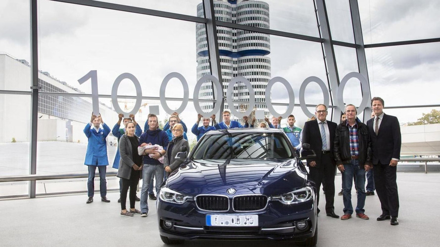 BMW delivers the ten millionth 3-Series to its owner