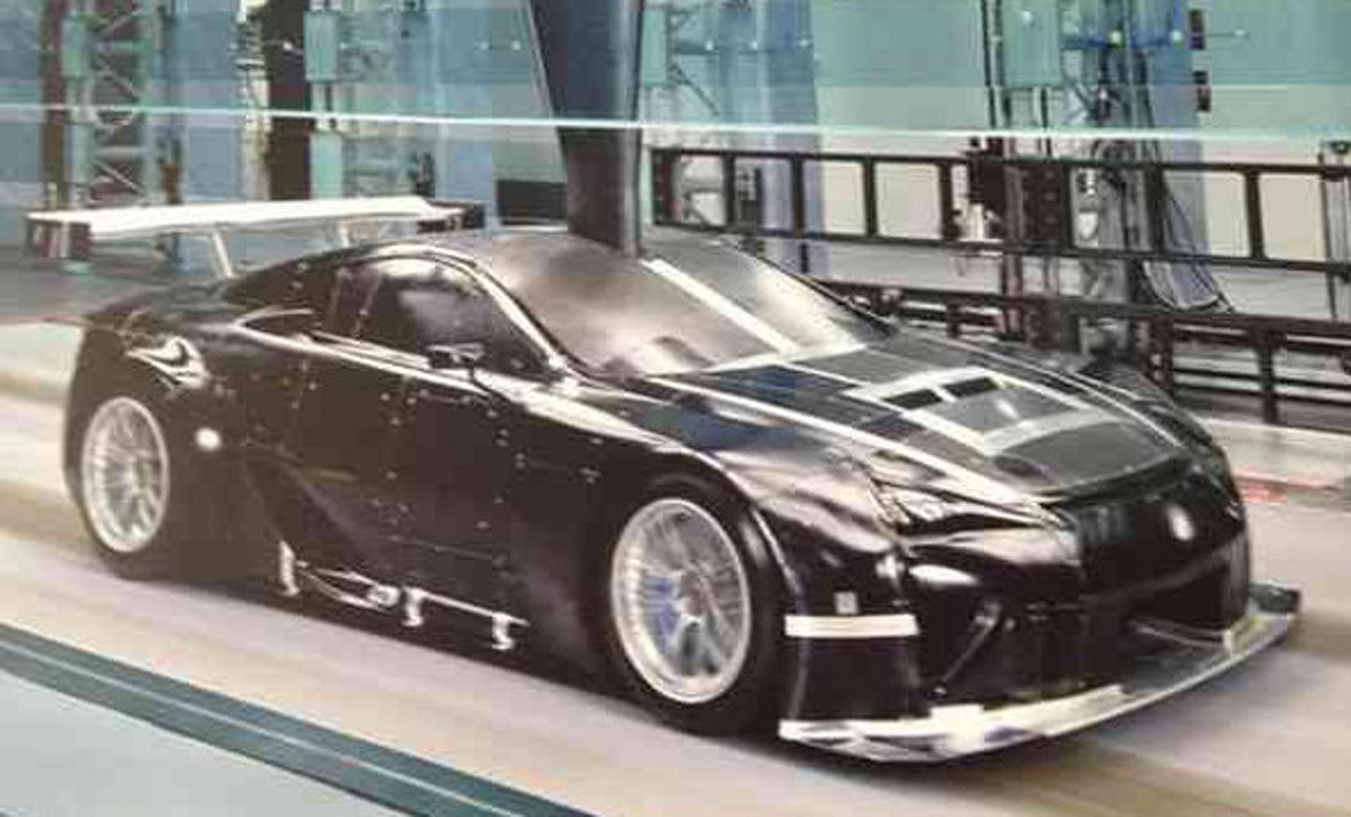 Lexus LFA Racer is the Stuff of Car Nerds' Dreams