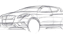 Suzuki S-Cross concept 10.8.2012