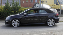Volkswagen Golf R Cabrio spied again
