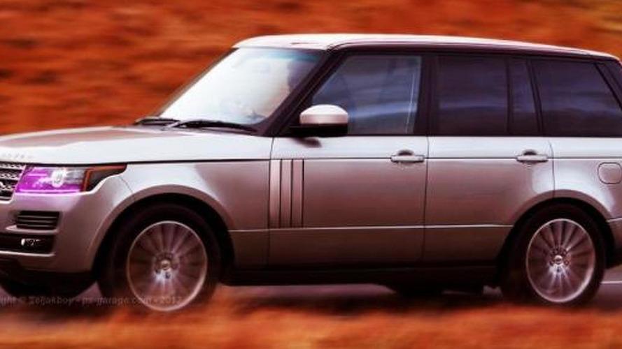 2013 Range Rover gets rendered