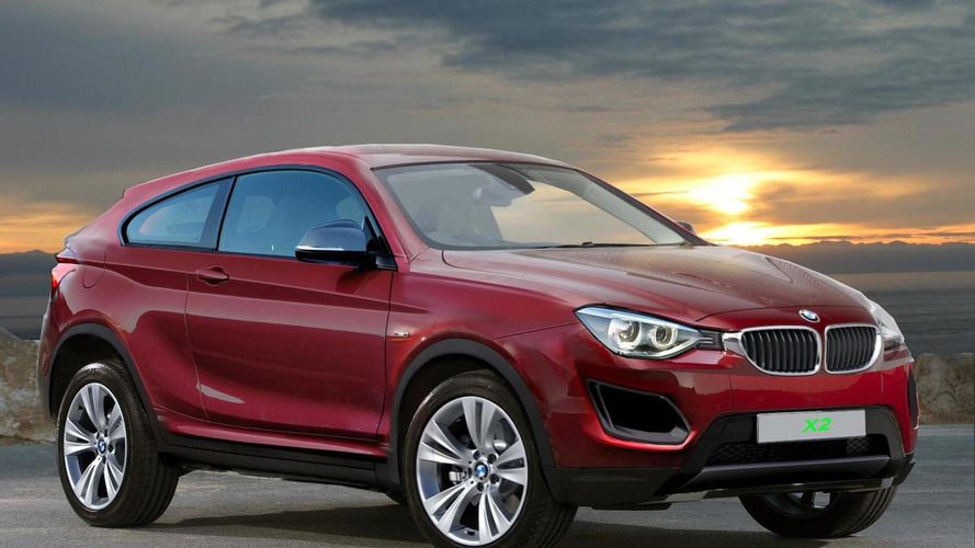 BMW X2 speculatively rendered