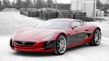 Rimac Concept One in Monaco