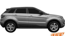 Landwind E32 blatantly copies Range Rover Evoque