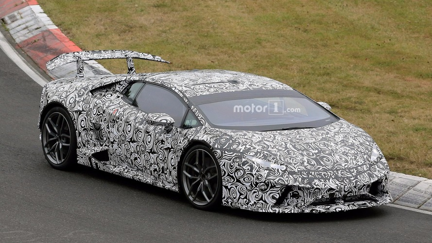 Lamborghini Huracan Performante trademark surfaces