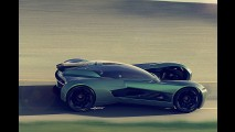 Aston Martin DBV Concept Presents a Unique Vulcan Alternative
