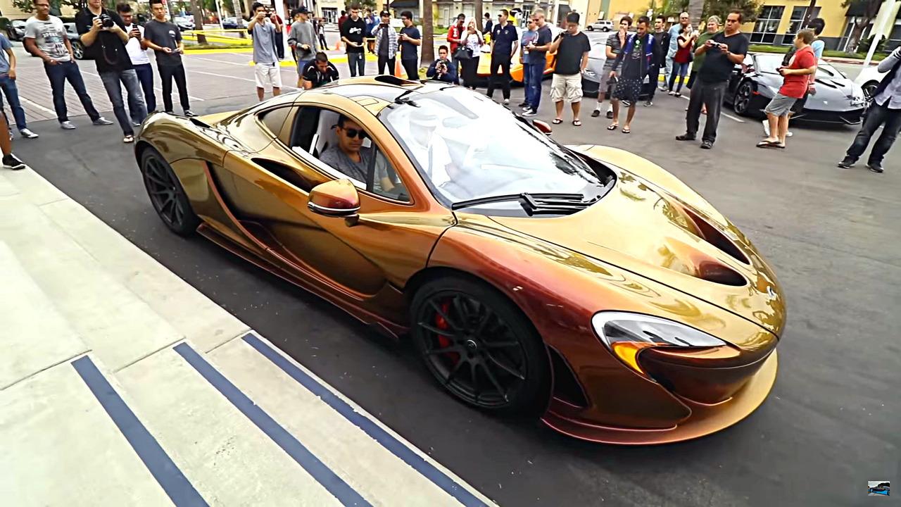 McLaren P1 chameleon