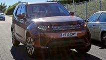 2017 Land Rover Discovery spy photos
