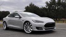 Tesla updates Model S Alpha design
