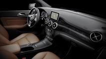 2012 Mercedes-Benz B-Class first interior photos revealed