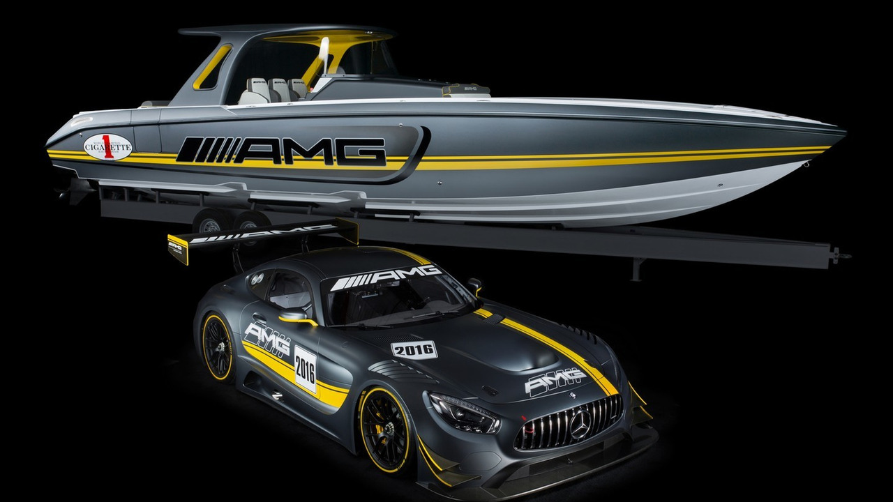 Mercedes-AMG Cigarette Racing powerboat