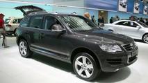 VW Touareg BlueTDI at Geneva