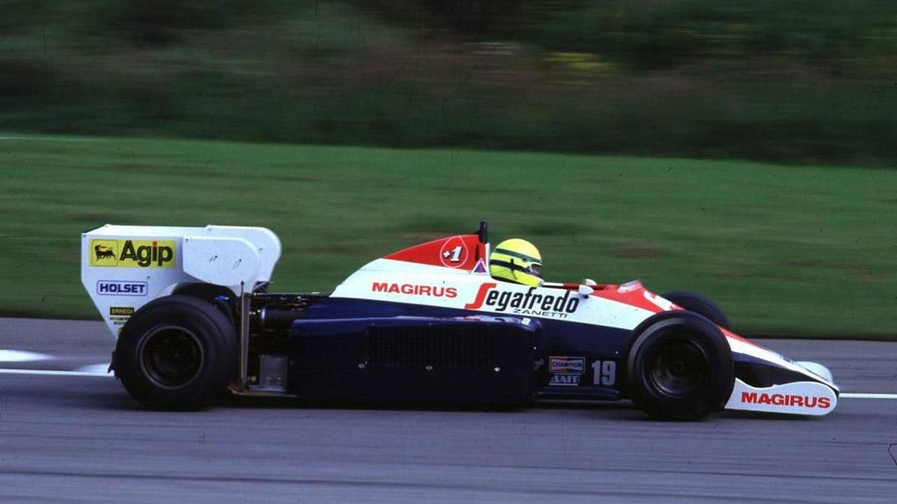 Ayrton Senna (BRA), Toleman TG184-HART Turbo - Ayrton Senna Story, 10.11.2007