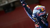 Webber threw helmet into crowd after Spain win