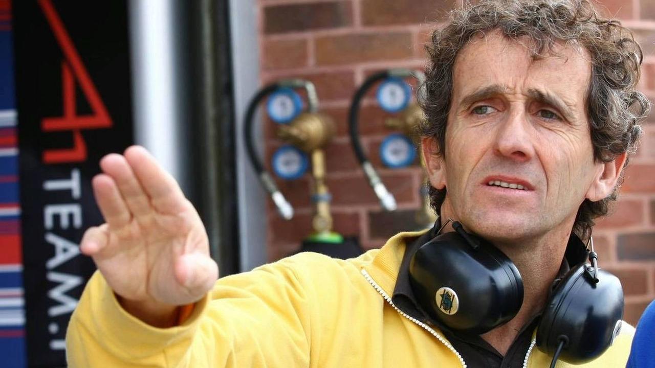 Alain Prost - A1GP World Cup of Motorsport 2007/08, Round 10, Brands Hatch, Fawkham, England, 03.05.2008