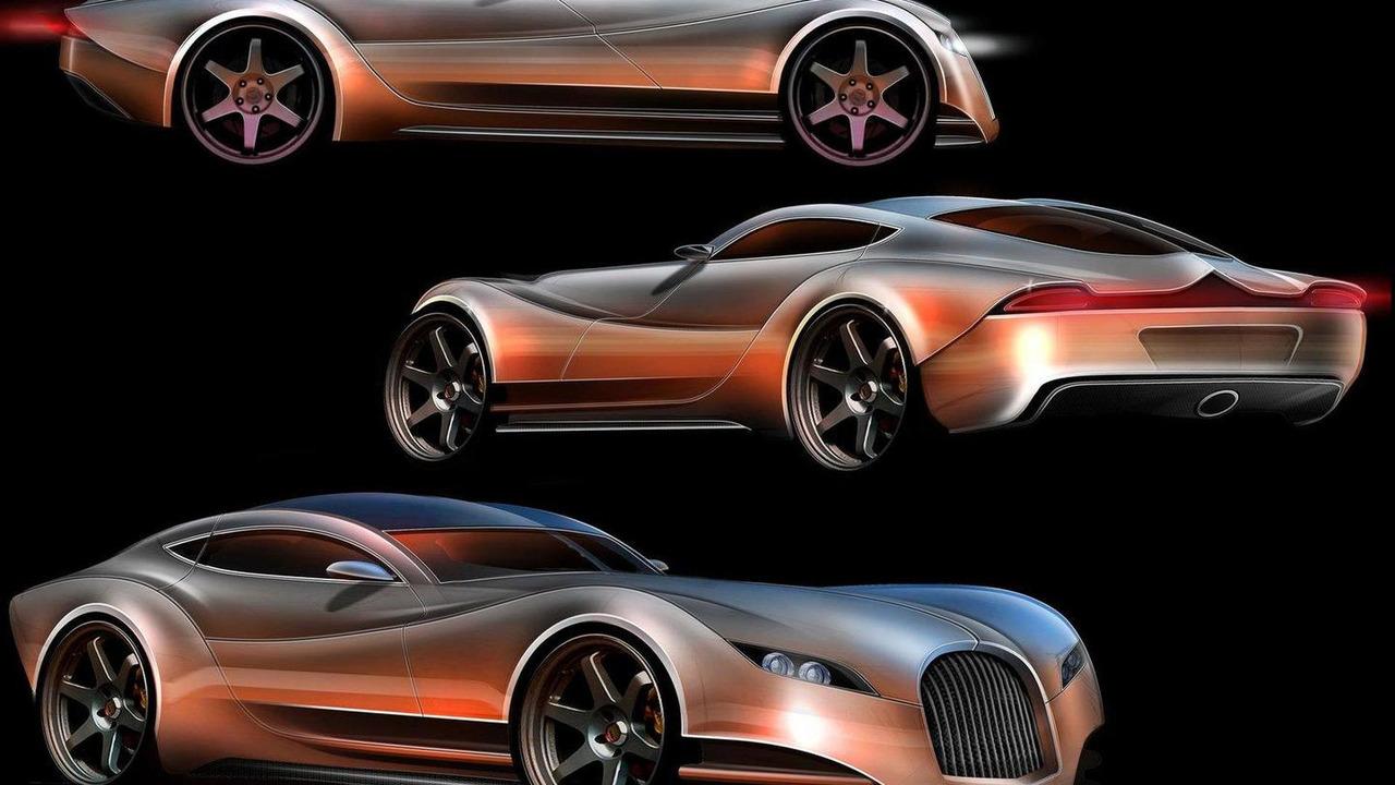 Morgan EvaGT design illustration, 24.08.2010