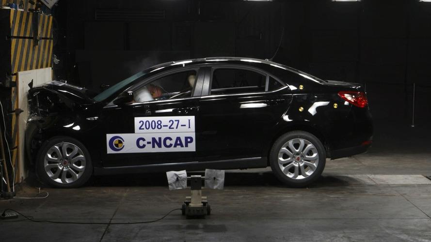 Video: Roewe 550 Receives 5 Stars in Chinese-NCAP Crash Tests