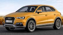 Audi Q2 speculative rendering 23.11.2012